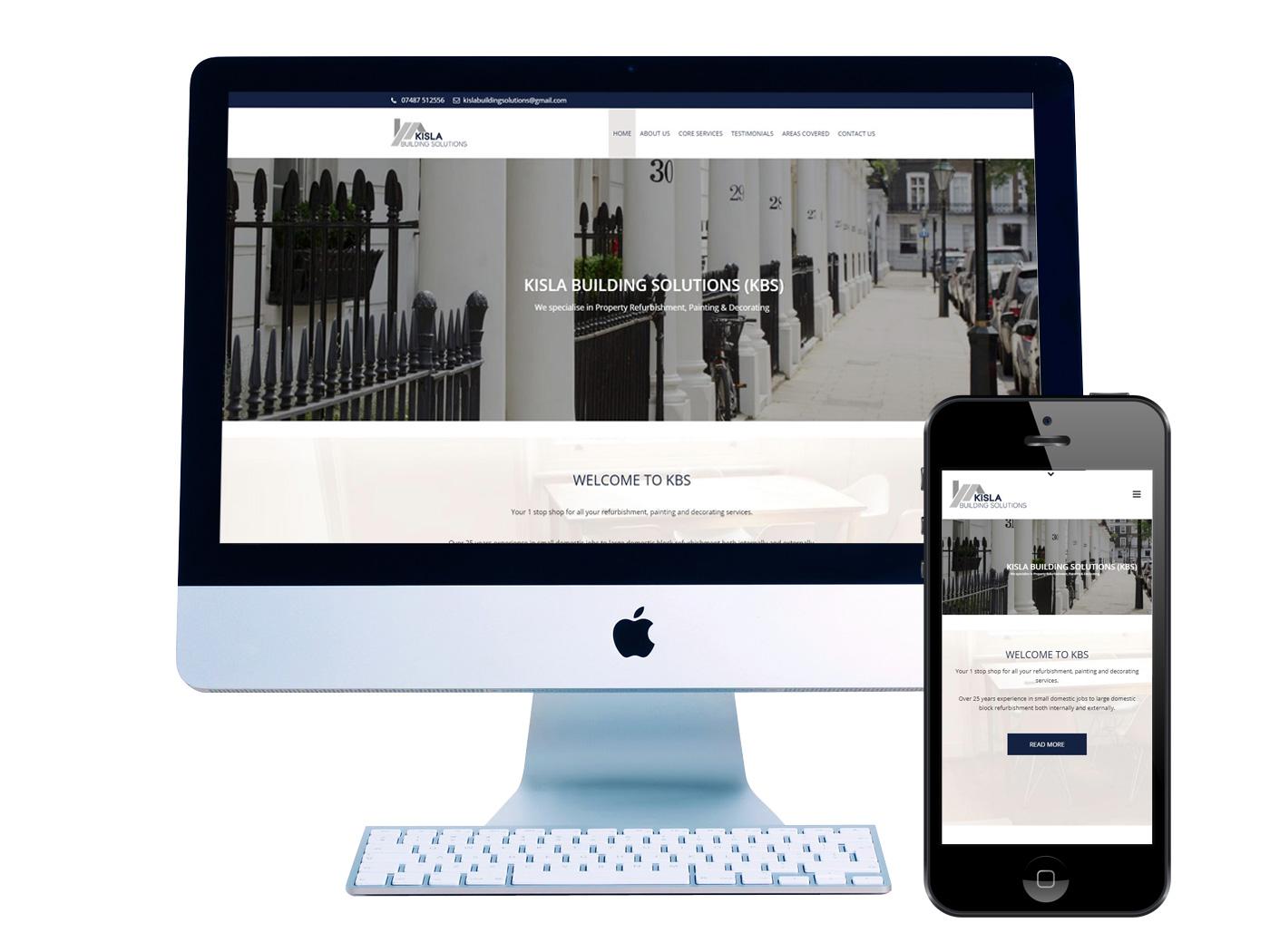 Kisla Building- Website Design Dorking