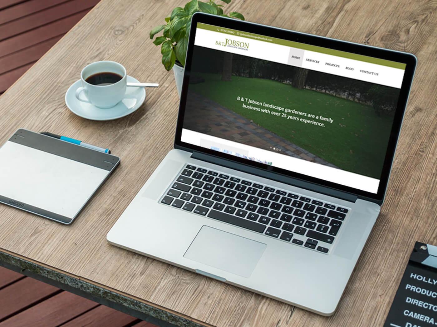 B & T Jobson - Website Design Wallington