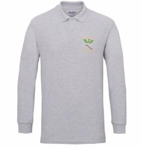 Staff uniform-Long sleeved polo shirt