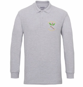Staff uniform-Long sleeved polo shirt